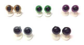 Mix 5 Plastic Back Eyes