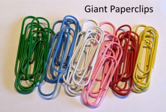 Mixed Giant Paperclips