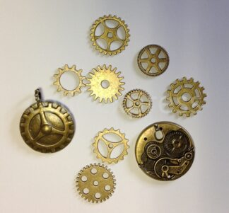 Mixed Pack 4 Steampunk Cogs