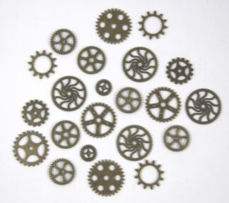 Mixed Pack 6 Steampunk Cogs