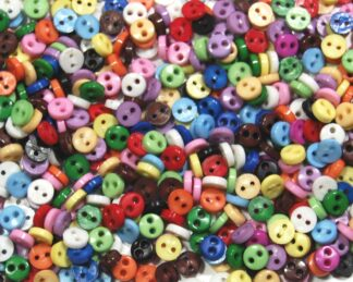 3mm Mini Doll Buttons
