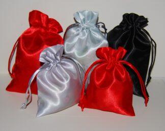 Satin Jewellery Bags