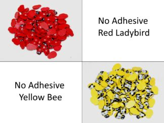 No Adhesive Ladybirds & Bees