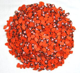 9x12mm Orange Bees