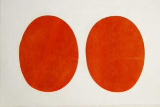Orange Elbow Patches