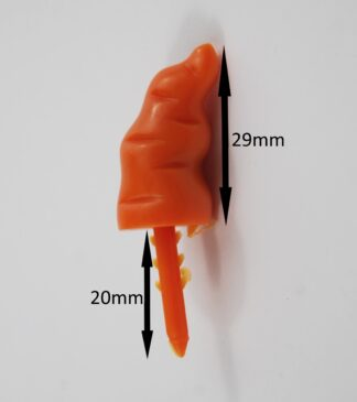 29mm Push In Carrot Noses