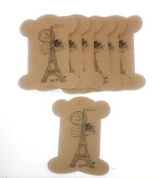 Paris Postcard - Kraft Bobbins