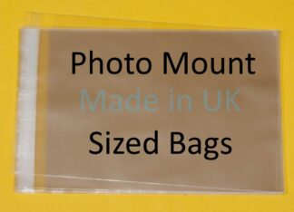 Photo Mount Size - In Inches