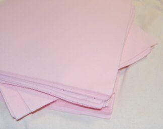 "6"" Light Pink Felt Squares"