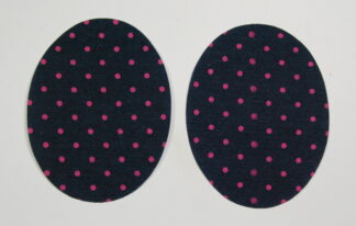 Pink Polka Dot Elbow Patches