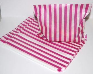 """5"""" x 7"""" - Pink Paper Sweet Bags"""