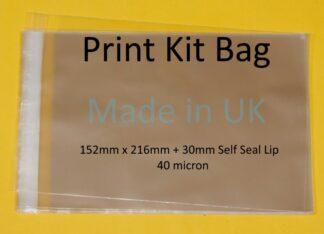 Print Kit Bag - 152mm x 216mm