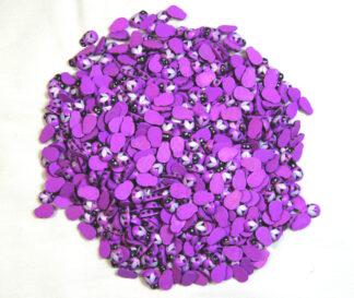 9x12mm Purple Bees