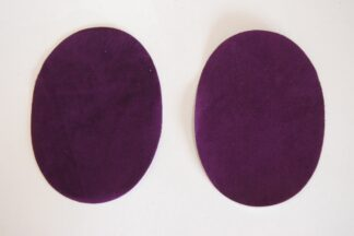 Purple Elbow Patches