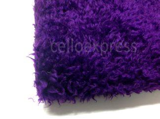 Purple Curly Fur