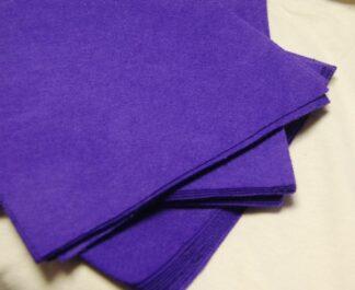 "6"" Purple Felt Squares"