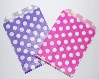 "5"" X 7"" - Purple&Pink Sweet Bags"