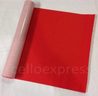Red Self Adhesive Felt Rolls