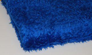 Royal Blue Curly Fur