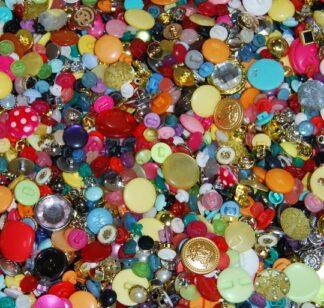 Shapes & Sparkles Buttons