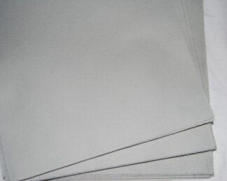Silver Craft Felt Lengths