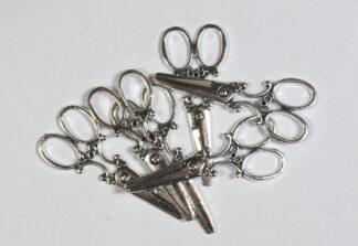 Silver - Scissors 60mm