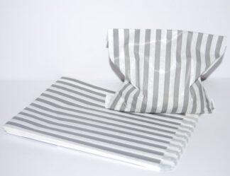 "7"" x 9"" - Silver Paper Sweet Bag"