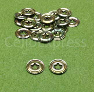 Size 1 Metal Backs - Fits 7-9mm