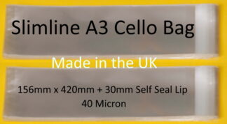 Slimline A3 Cellos - 156mmx420mm
