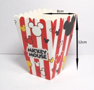 Small Mickey Popcorn Boxes