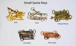 Small Santa Keys