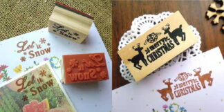 Christmas Wooden Ink Stampers