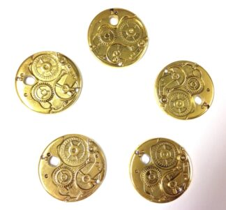 Antique Golden Pendant 38x3x3mm