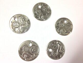 Antique Silver Pendant 38x3x3mm