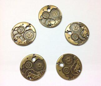 Antique Bronze Pendant 38x3x3mm