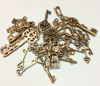 Steampunk, Skeleton & Santa Keys