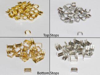 Zipper Top & Bottom Stops