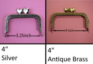 Straight Type 9 Purse Clasps