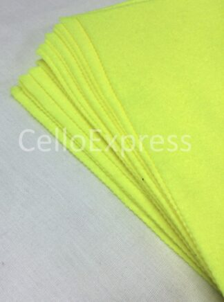 Superbright Yellow Felt Lengths