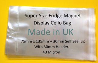 Super Size Fridge Magnet Display