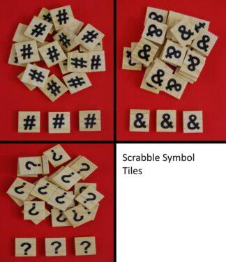 Symbol Scrabble Tiles