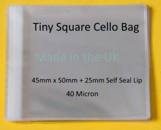 Tiny Square - 45mm X 50mm