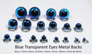 Transparent Blue Eyes M Backs