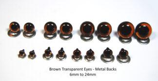 Transparent Brown Eyes MB