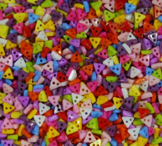Triangle Mini Doll Buttons
