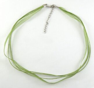 Green 430mm x 6mm Necklaces