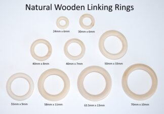 Wooden Linking Rings