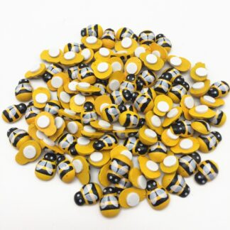 9x13mm Yellow Bees