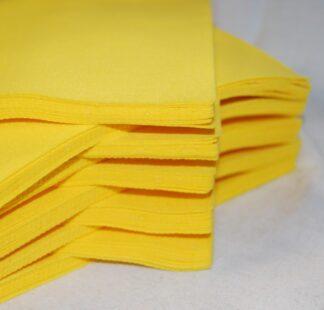 Yellow Craft Felt Lengths