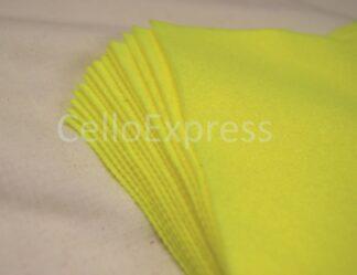 "6"" Yellow Felt Squares"
